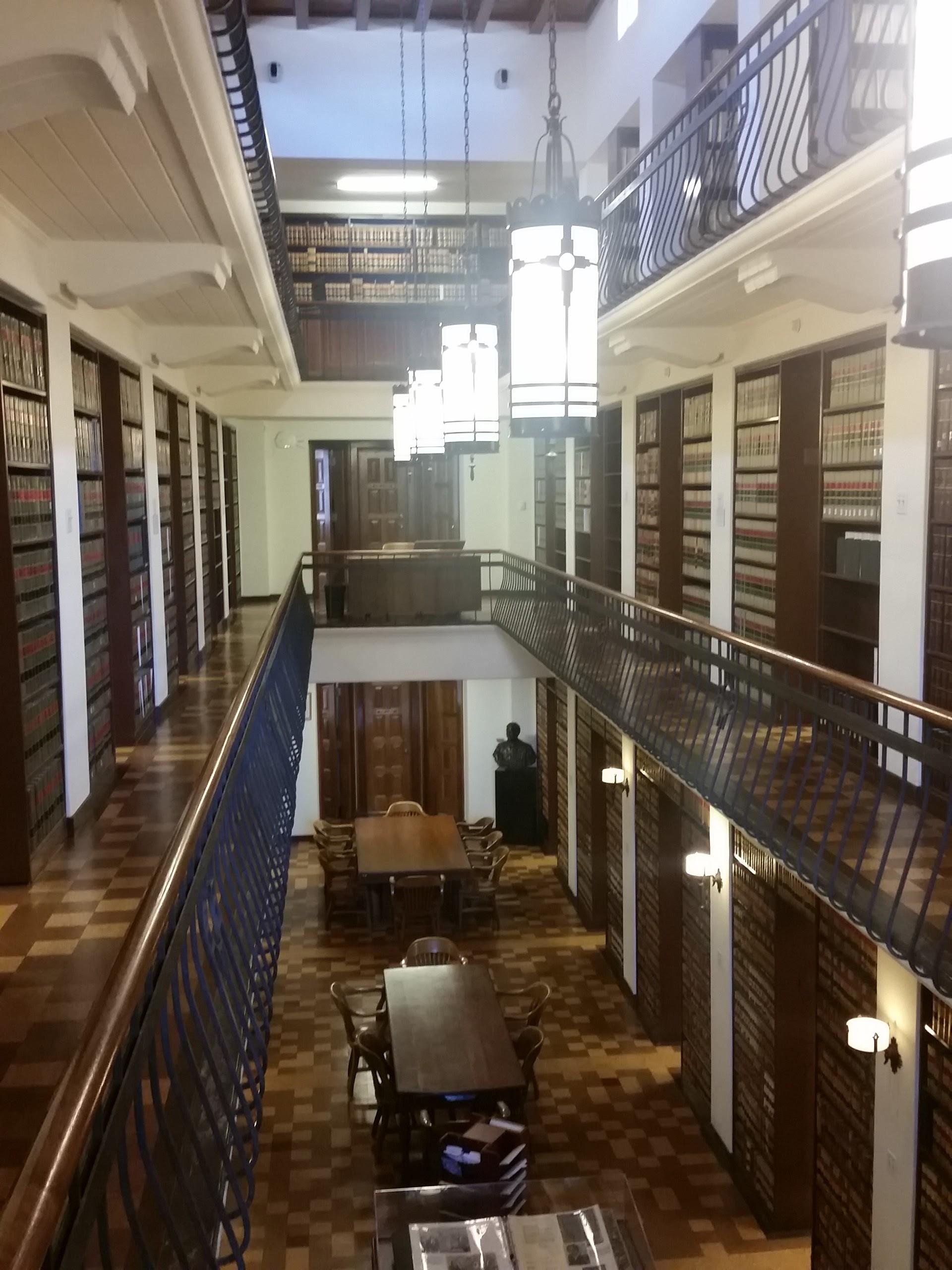 Atrium View of Library