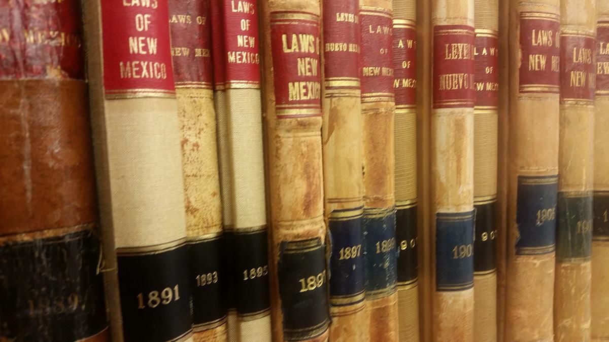 new mexico law books